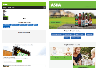 ASDA improvement